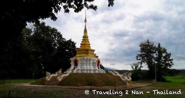 A pagoda in Pua, Nan - Thailand