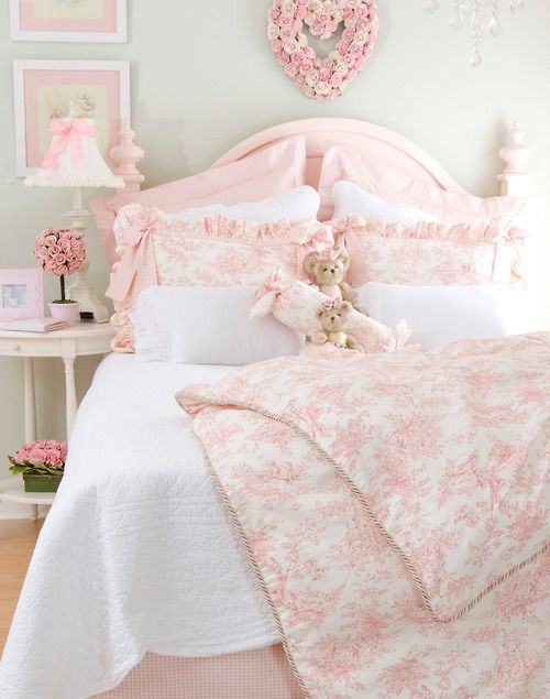Decoração leve em cor de rosa. Blog Achados de Decoração