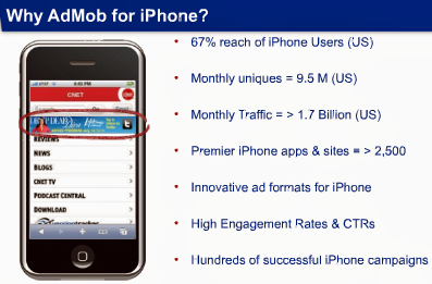 iphone admob country revenue