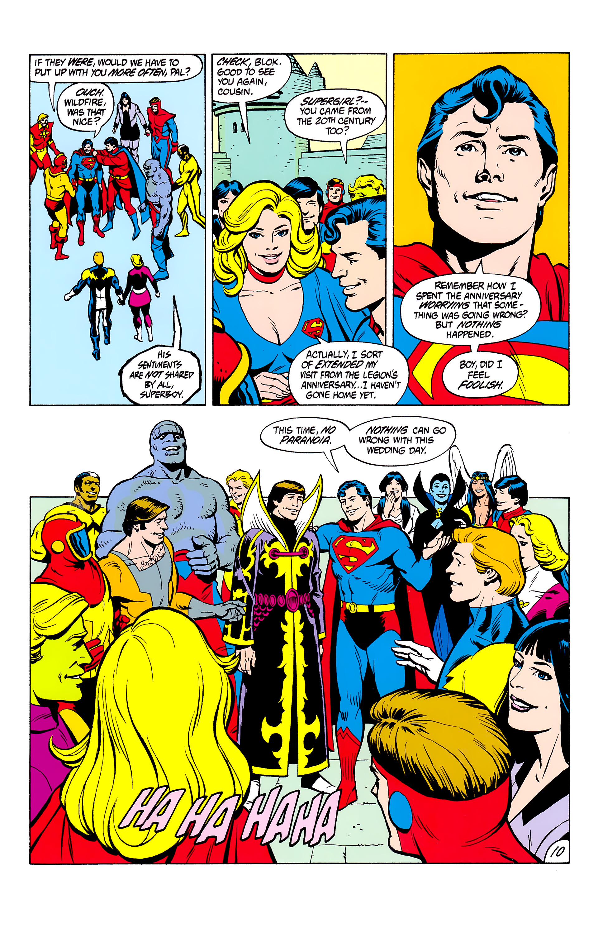 Legion of Super-Heroes (1980) _Annual_2 Page 10
