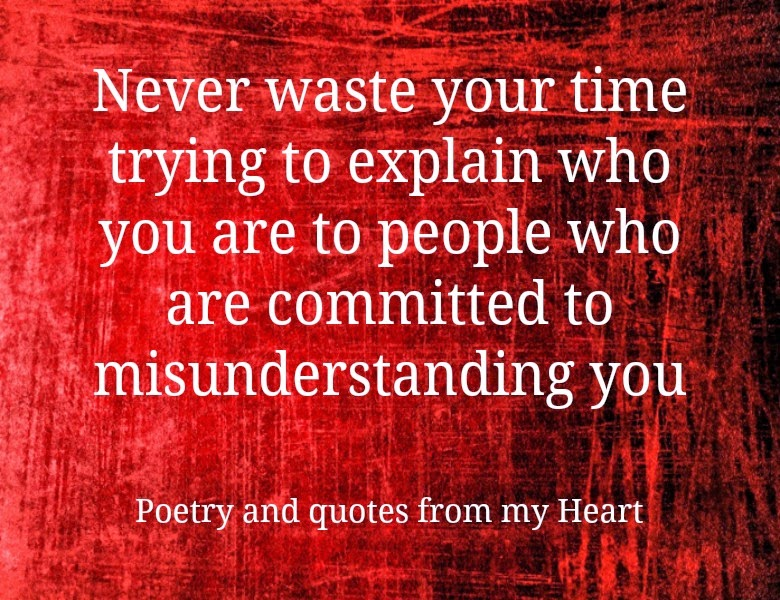 Never Waste Your Time Quotes