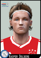PES 6 Faces Kasper Dolberg by Dewatupai