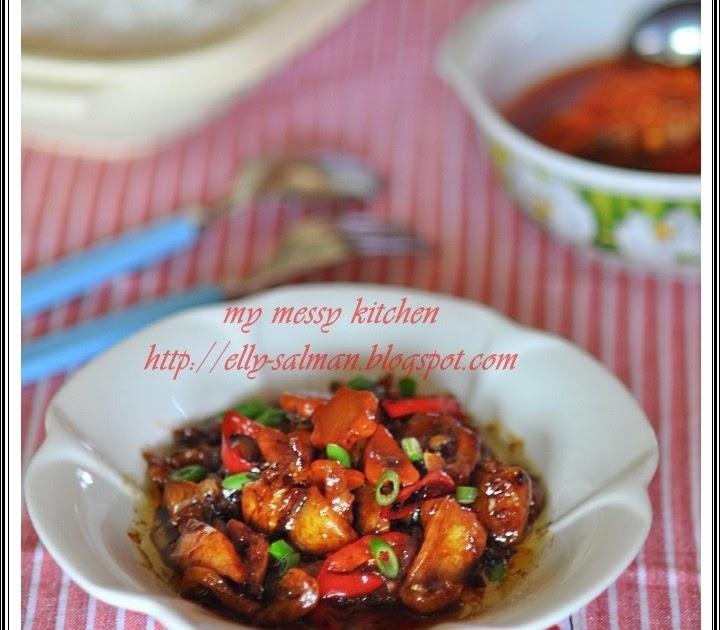 Messy Kitchen Baking: My Messy Kitchen: Ayam Masak Kecap Lada Hitam