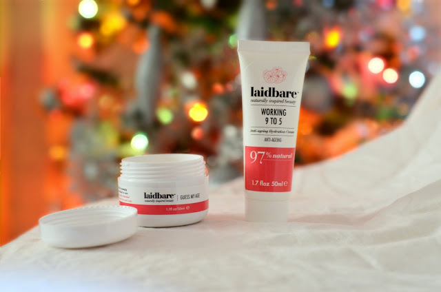 Laidbare working 9 to 5 hydration cream, Laidbare guess my age