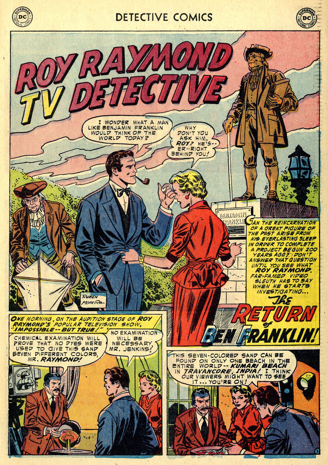 Read online Detective Comics (1937) comic -  Issue #213 - 27