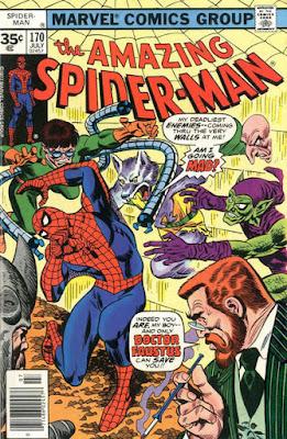 Amazing Spider-Man #170, Dr Faustus