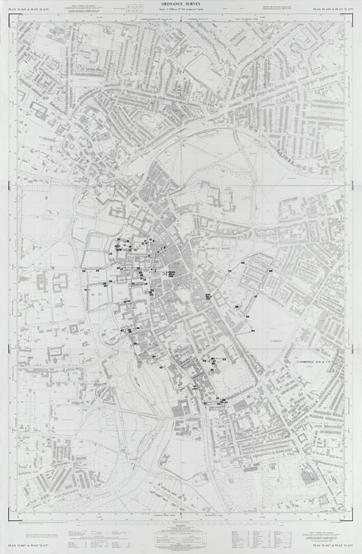 Audstermania: Cartographic Grounds: Projecting the