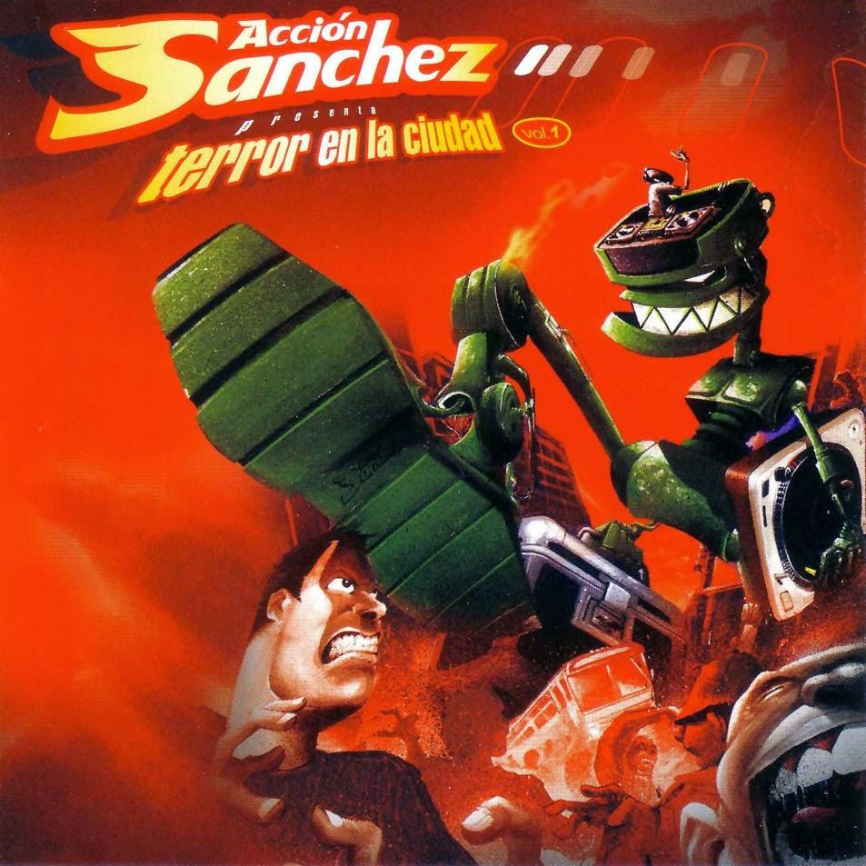 Acción Sánchez - Terror En La Ciudad: Volumen 1 [2004] (España)