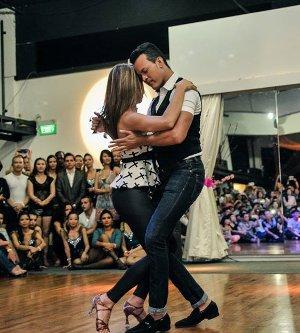 Forma de bailar bachata