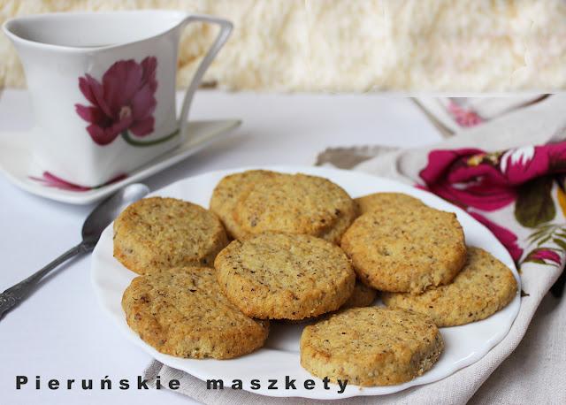 ciasteczka orzechowo-kawowe