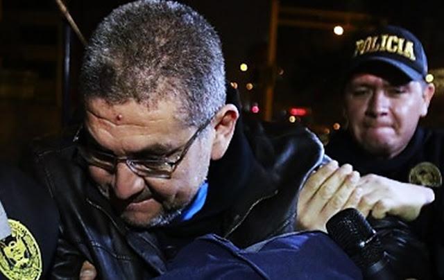 César Hinostroza y Walter Ríos, considerados los cabecillas de la organización criminal Los Cuellos Blancos del Puerto.