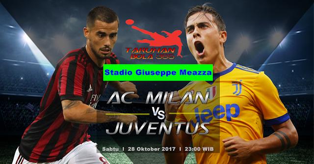 Prediksi AC Milan vs Juventus 28 Oktober 2017