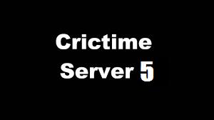 crictime server 5