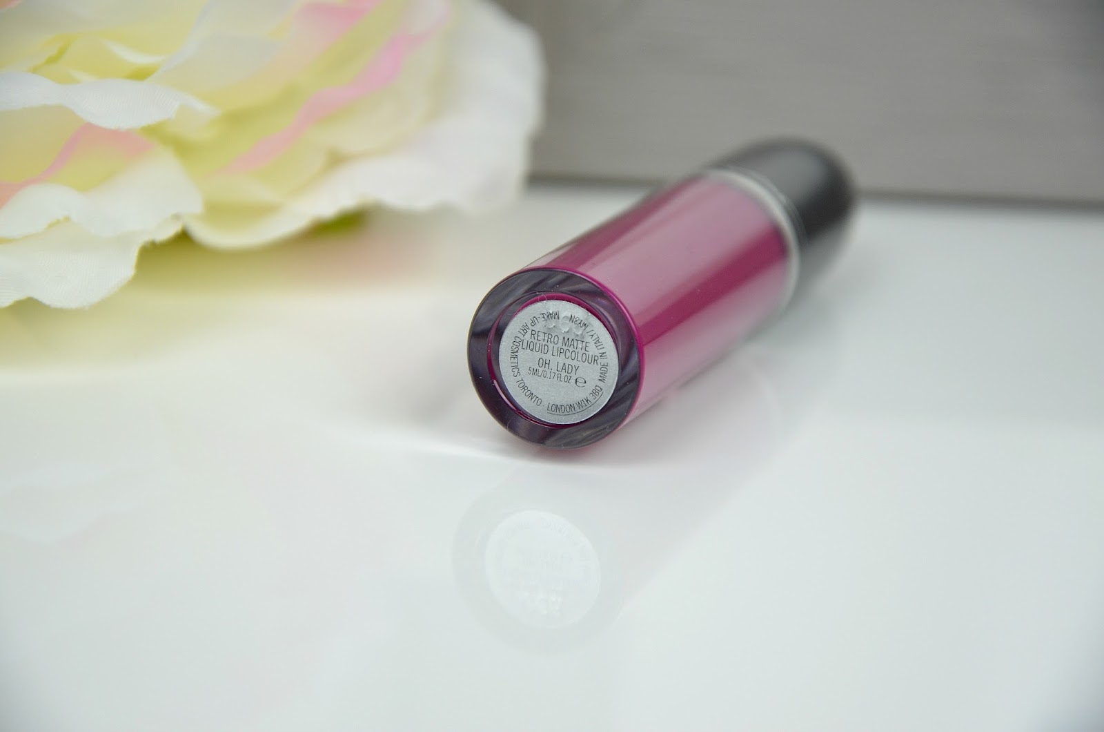 Oh, Lady Retro matte liquid lipcolour MAC revue