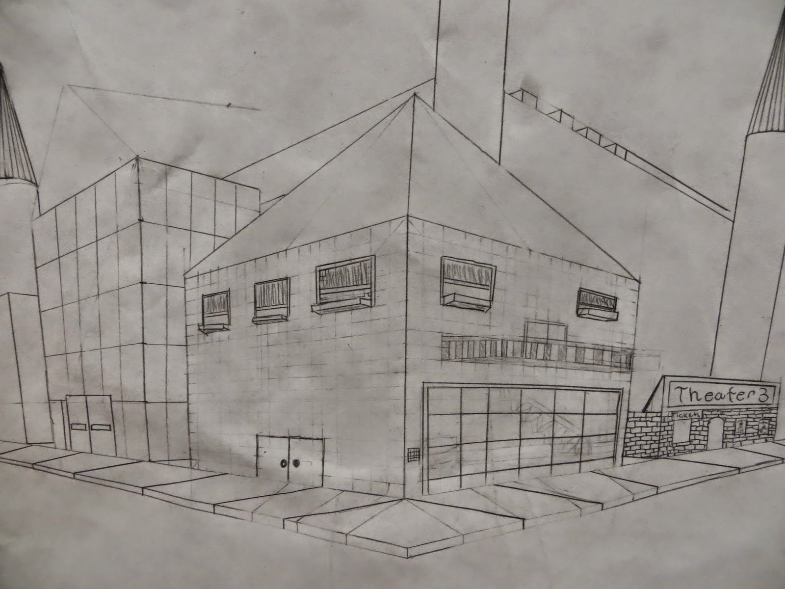 Shana's Art Room : 7th Grade Two Point Perspective