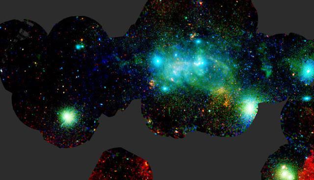 o centro da Via Láctea em raio-X