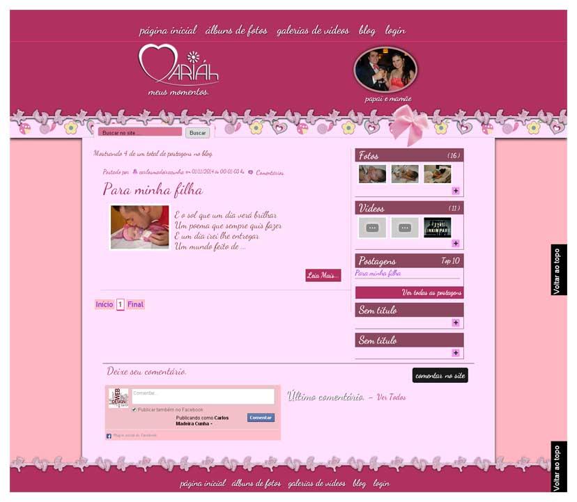 Página Blog