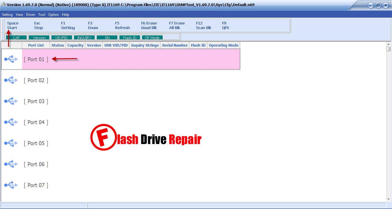 USbest ITE IT1169E formatter V1.69.7