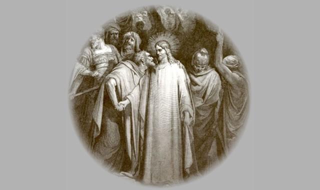 Christus und Judas