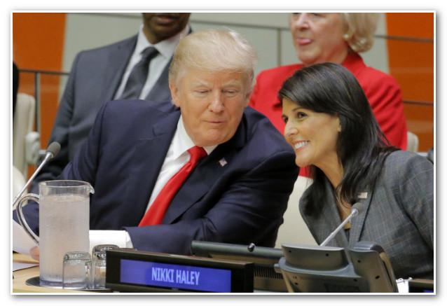 بشكل مفاجئ .. استقالة 'نيكي هالي' سفيرة أمريكا لدى الأمم المتحدة !
