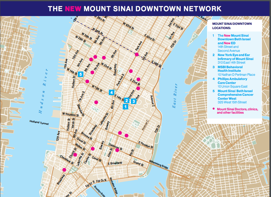 EV Grieve: More details on the incoming Mount Sinai Downtown