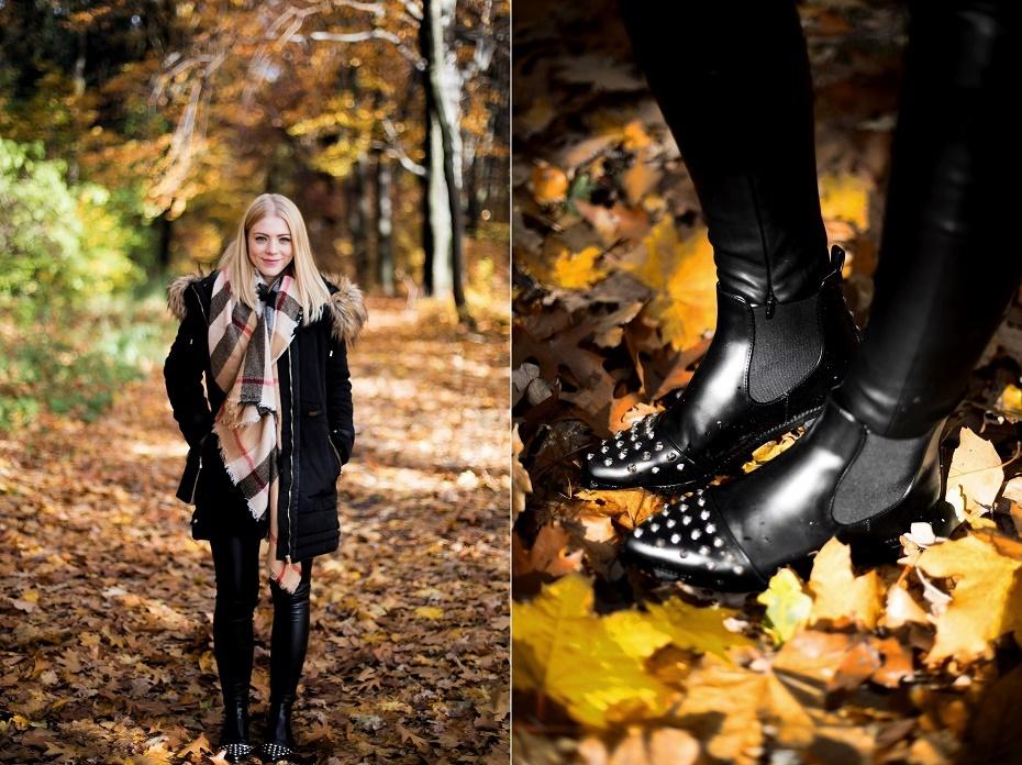 Jesienny look, ćwieki