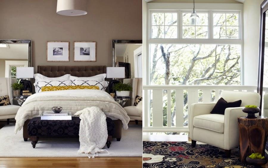 Dom w Kalifornii ze składaną, szklaną ścianą, wystrój wnętrz, wnętrza, urządzanie domu, dekoracje wnętrz, aranżacja wnętrz, inspiracje wnętrz,interior design , dom i wnętrze, aranżacja mieszkania, modne wnętrza, styl klasyczny, styl Hampton,sypialnia