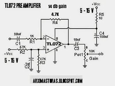 Amateur Built Pill Box Preamplifier L072