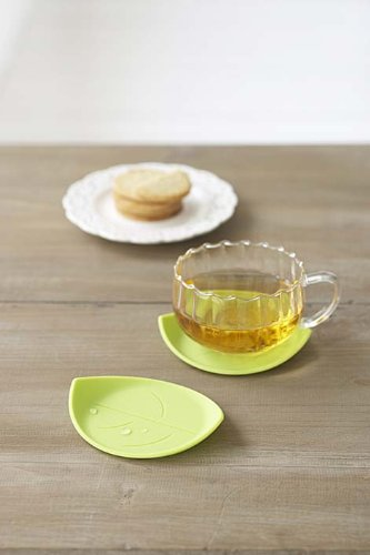 Leaf Shaped Cup Coaster