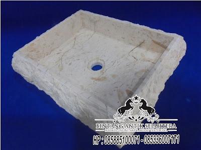 Wastafel Kotak Marmo