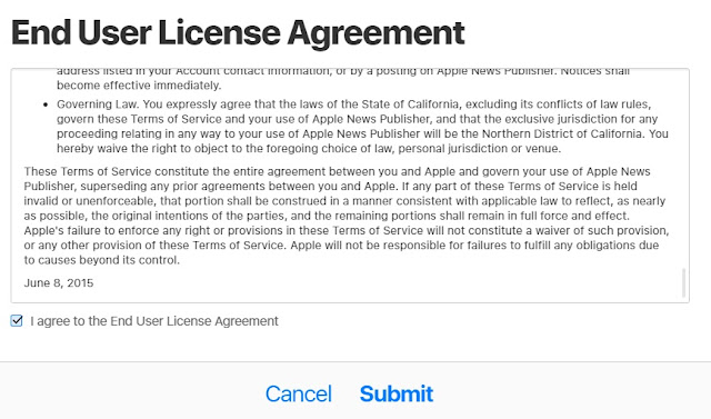 How To Submit Your Blog To Apple News Publisher