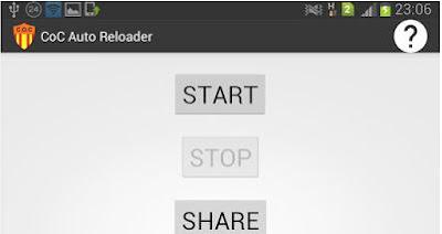 COC mod, COC hack, bermain coc auto reload