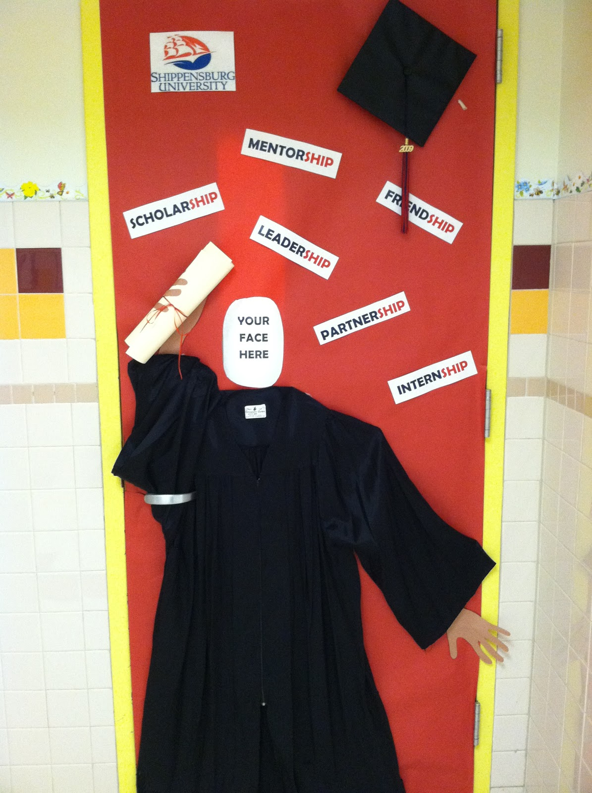 College Door Decorating Contest and School Spirit Day: Red Ribbon Week 2011