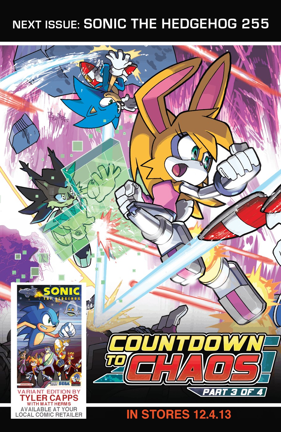 Read online Sonic The Hedgehog comic -  Issue #254 - 25