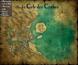 Risen 3, Titan Lords, Coast Crabs Map