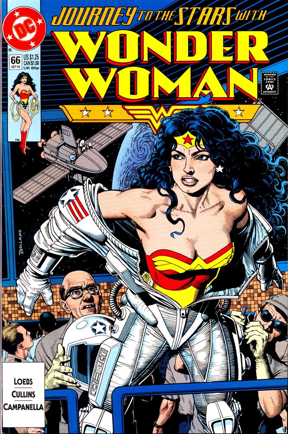 Read online Wonder Woman (1987) comic -  Issue #66 - 1