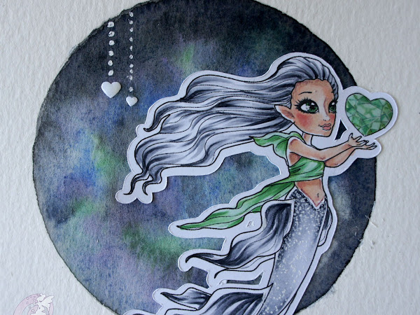 Heart of the sea, a beautiful mermaid