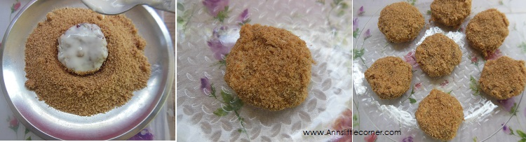 How to make Tapioca Cutlet- Step 7