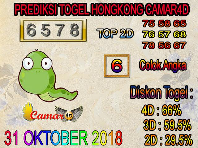 31 Oktober 2018