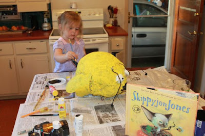 Activity idea for Skippyjon Jones by Judy Schachner via www.happybirthdayauthor.com