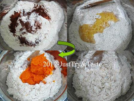 Obsesi Roti 17: Pumpkin Cinnamon Raisin Rolls - Roti Gulung Labu Kuning dengan Kismis dan Kayu Manis