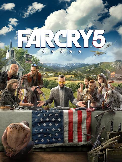 Far Cry 5 muestra su portada y primera imagen