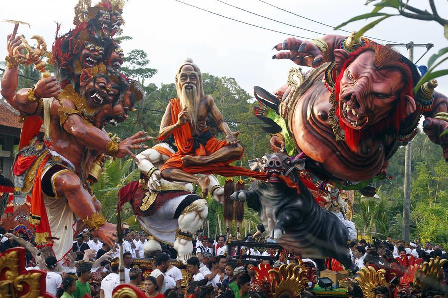 نتيجة بحث الصور عن مهرجان الارز في اندونيسيا