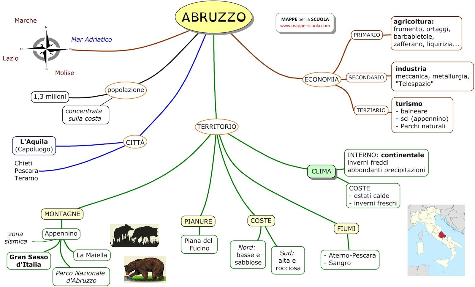 Cartina Tematica Dell Abruzzo Pieterduisenberg