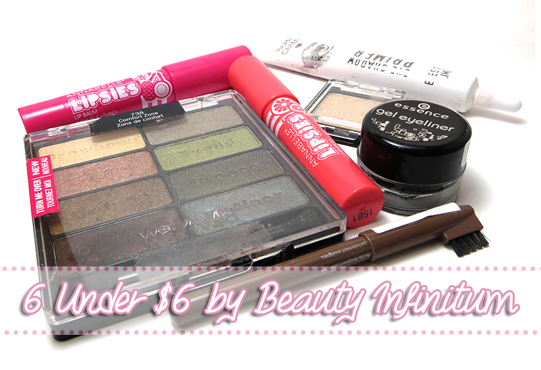 Budget Beauty Guest Post: 6 Under $6 by Beauty Infinitum