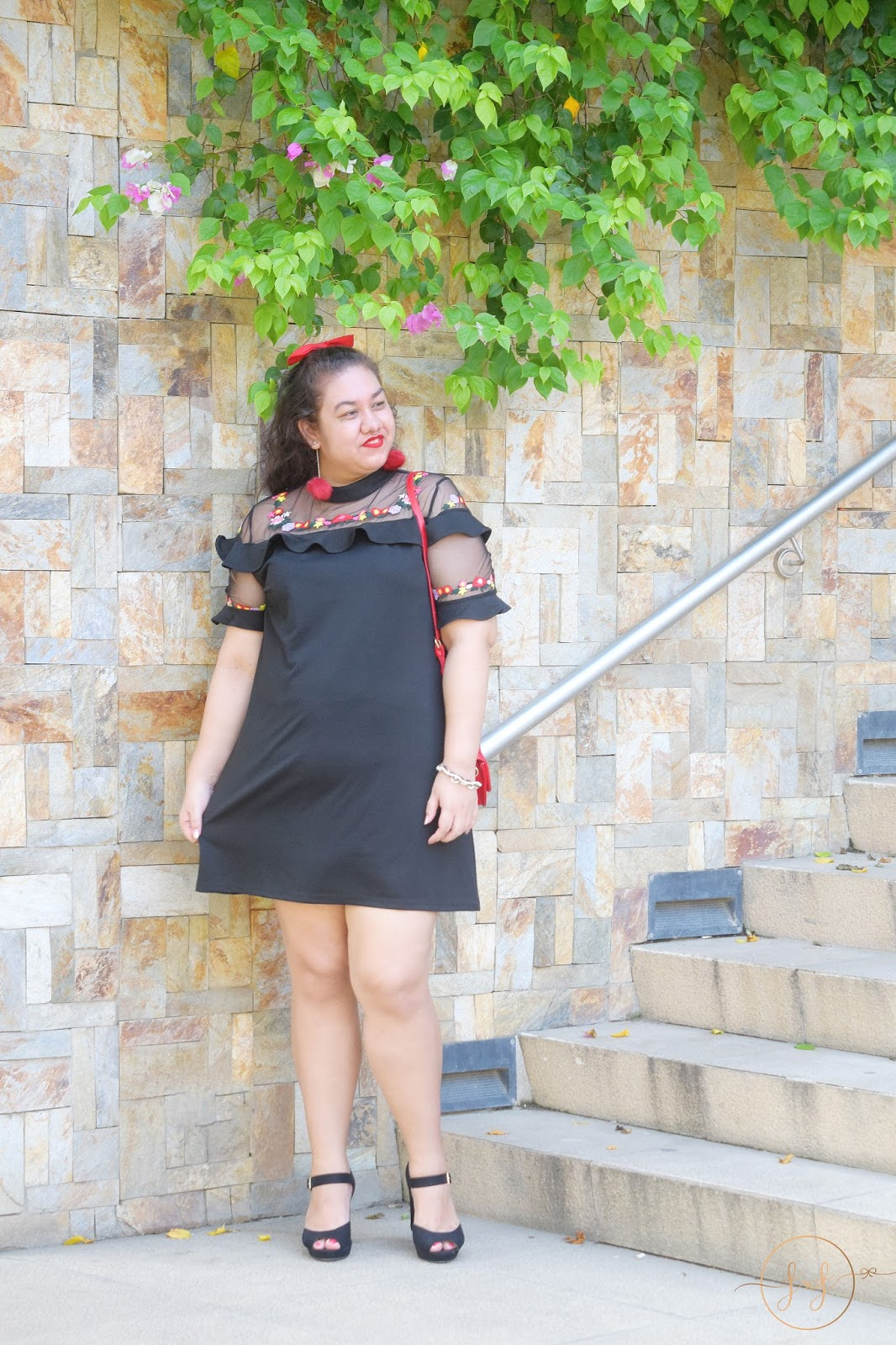 The Perfect Date Night Embroidered LBD Under $50
