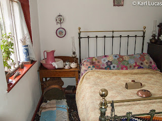 Victorian bedroom Toll House Blists Hill