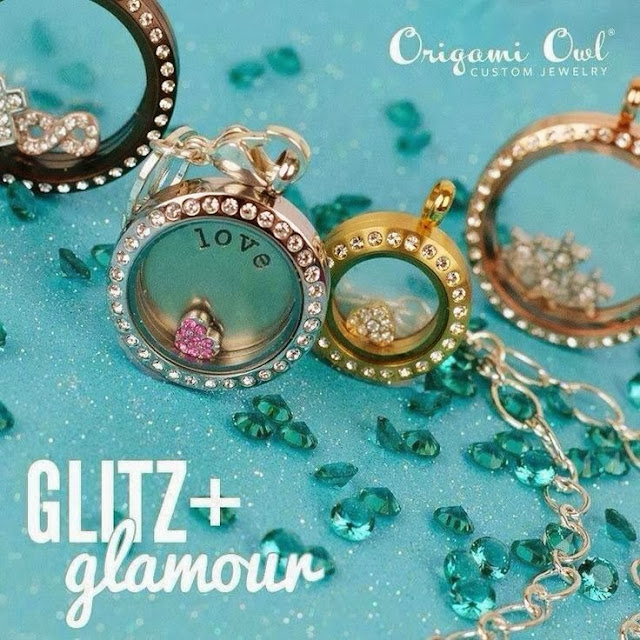 Glitz + Glamour Origami Owl Living Lockets | Shop StoriedCharms.com