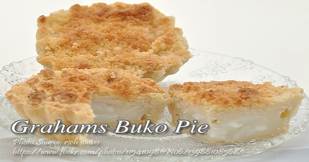 No Bake Grahams Buko Pie Recipe