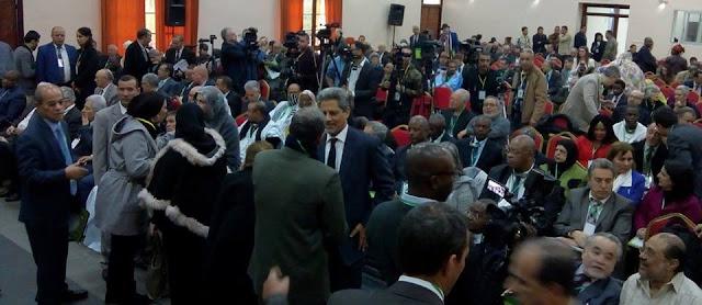 """انطلاق الندوة الدولية السادسة حول """"حق الشعوب في المقاومة: حالة الشعب الصحراوي"""" بالجزائر"""